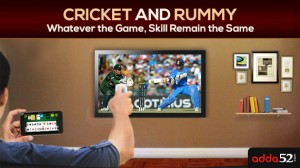 Cricket and Rummy! A lot of skill but a small bit of chance?