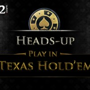Playing Heads-up Play in Texas Hold'em Poker